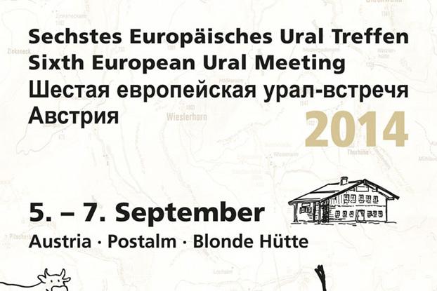 Sixième Rencontre Européenne Ural 2014 - URAL FRANCE