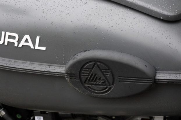 Ural EFI 2014 Protections anti-dérapantes du réservoir URAL FRANCE