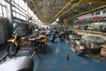 usine Ural Irbit atelier de montage vue générale URAL FRANCE