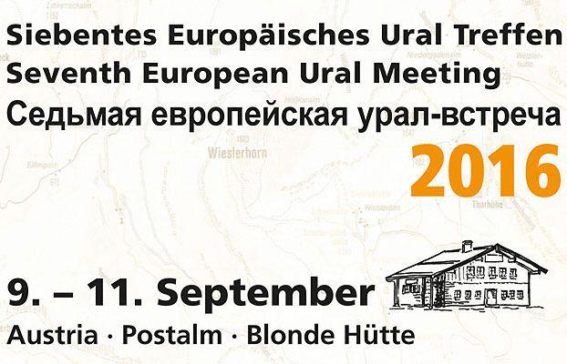 7ème Rencontre Européenne Ural Autriche 2016 - URAL FRANCE