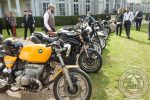 Motos devant le château - DGR 2016 Paris - URAL FRANCE