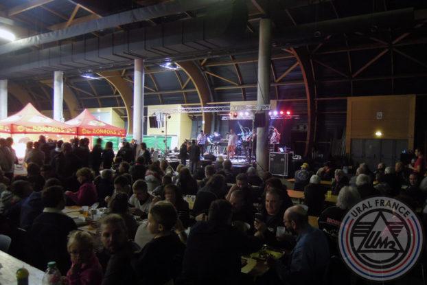 Concert du samedi soir - 5ème Salon du Side-car - URAL FRANCE