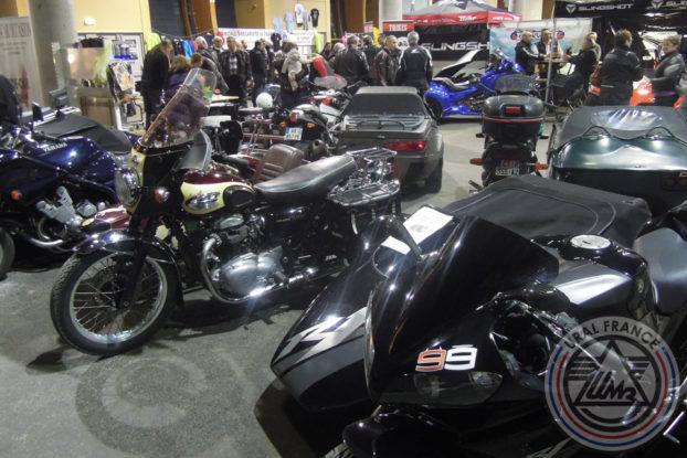 Side-car Triumph - 5ème Salon du Side-car - URAL FRANCE