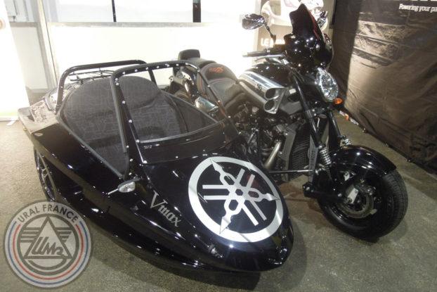 Side-car Vmax Yamaha - 5ème Salon du Side-car - URAL FRANCE
