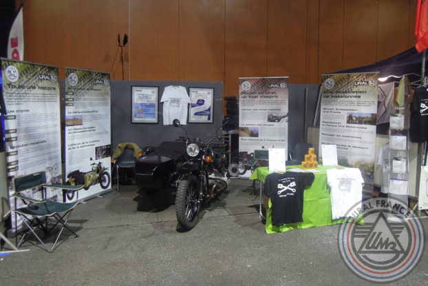 Stand - 5ème Salon du Side-car - URAL FRANCE