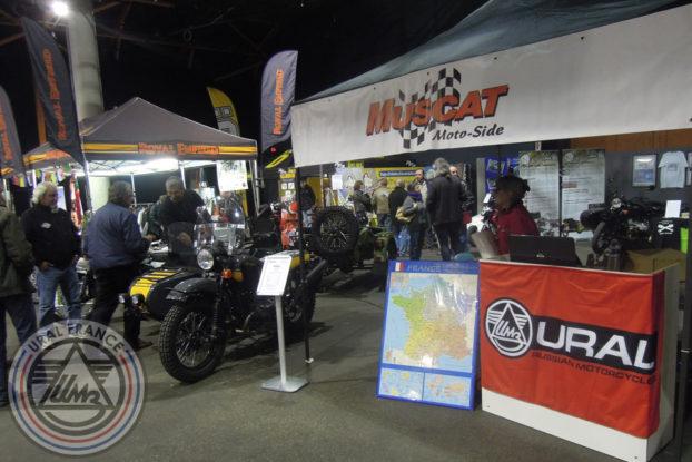 Stand Andre Muscat - 5ème Salon du Side-car - URAL FRANCE