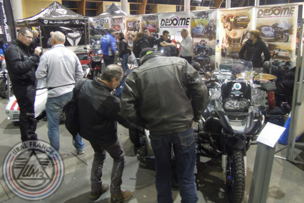Stand Dedome - 5ème Salon du Side-car - URAL FRANCE