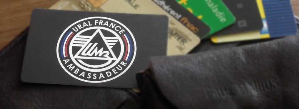 Carte Ambassadeur - URAL FRANCE