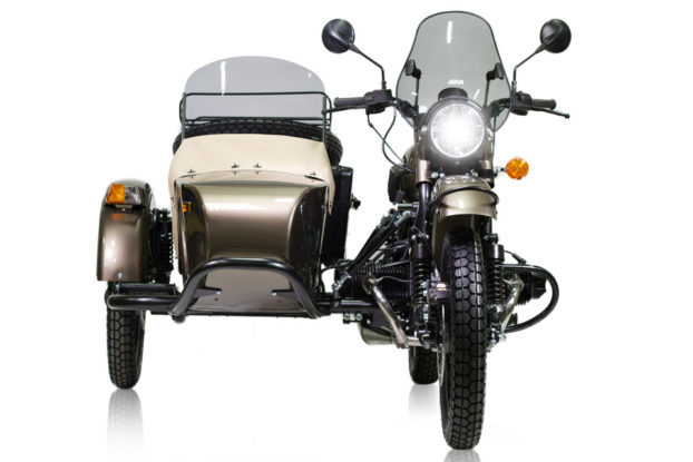 Ural Ambassador Limited Edition vue de face - URAL FRANCE