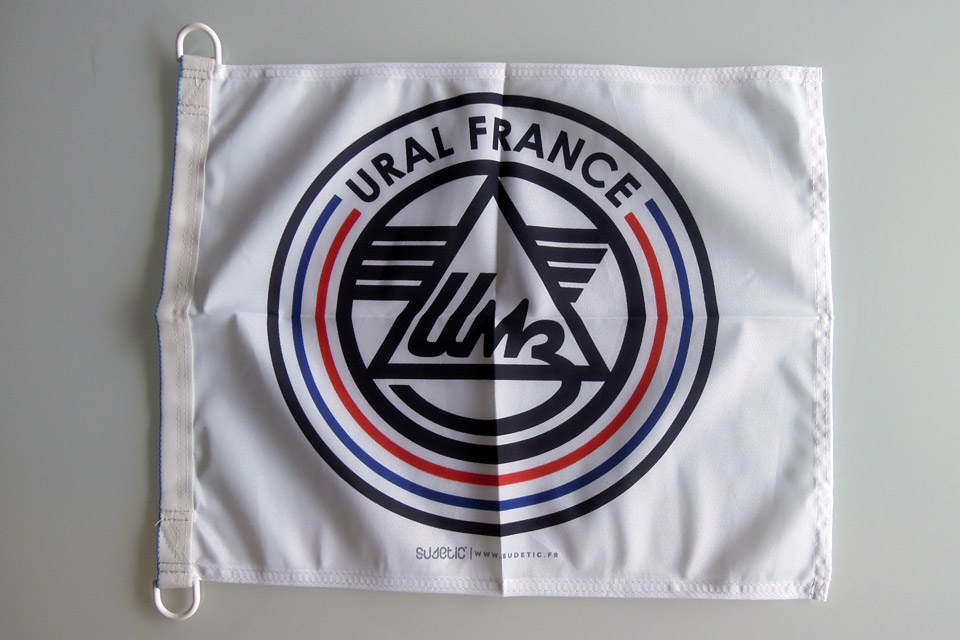 Drapeau 50x40 - URAL FRANCE