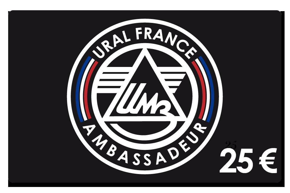 Carte de membre 25 € - URAL FRANCE