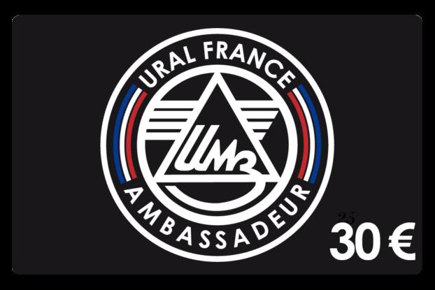 Carte de membre 30 € - URAL FRANCE