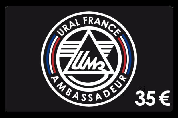 Carte de membre 35 € - URAL FRANCE