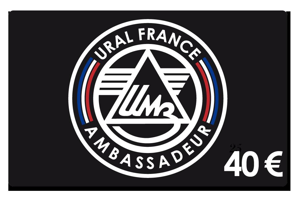 Carte de membre 40 € - URAL FRANCE