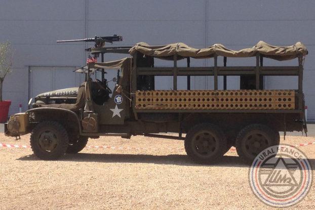 Camion militaire de transport - American Tours Festival - URAL FRANCE