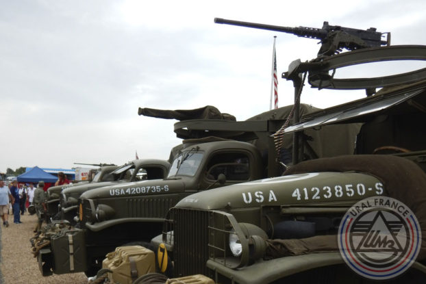 Camions militaires - American Tours Festival - URAL FRANCE