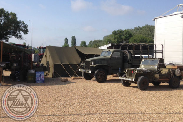 Camp militaire - American Tours Festival - URAL FRANCE