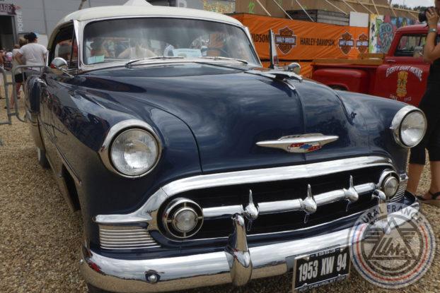 Chevrolet bleue - American Tours Festival - URAL FRANCE