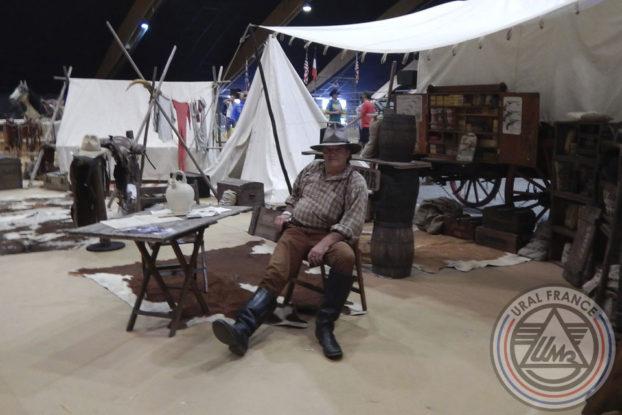 Cow-boy au camp - American Tours Festival - URAL FRANCE