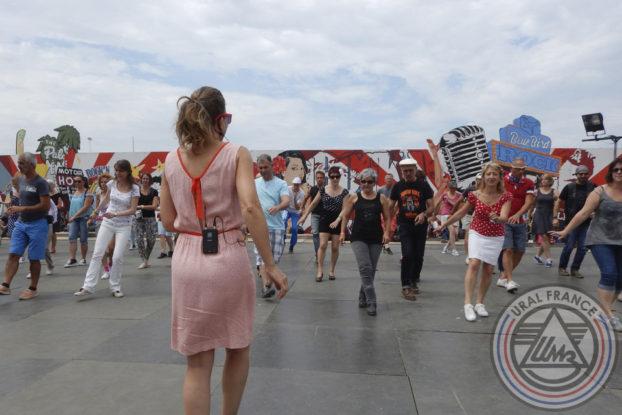 Danse en ligne - American Tours Festival - URAL FRANCE