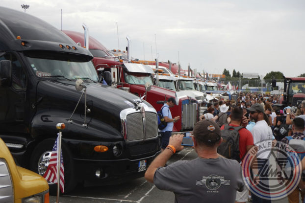 Parking Trucks - American Tours Festival - URAL FRANCE