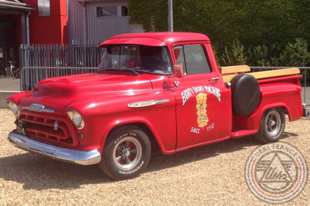 Pick-up Chevrolet - American Tours Festival - URAL FRANCE