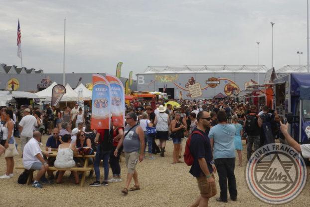 Place des food trucks - American Tours Festival - URAL FRANCE