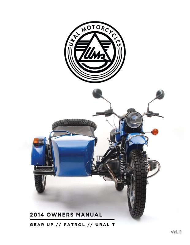 URAL 2014 OWNER MANUAL - URAL FRANCE