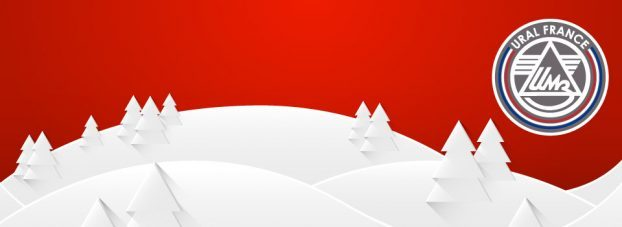 Bonne année 2018 - URAL FRANCE