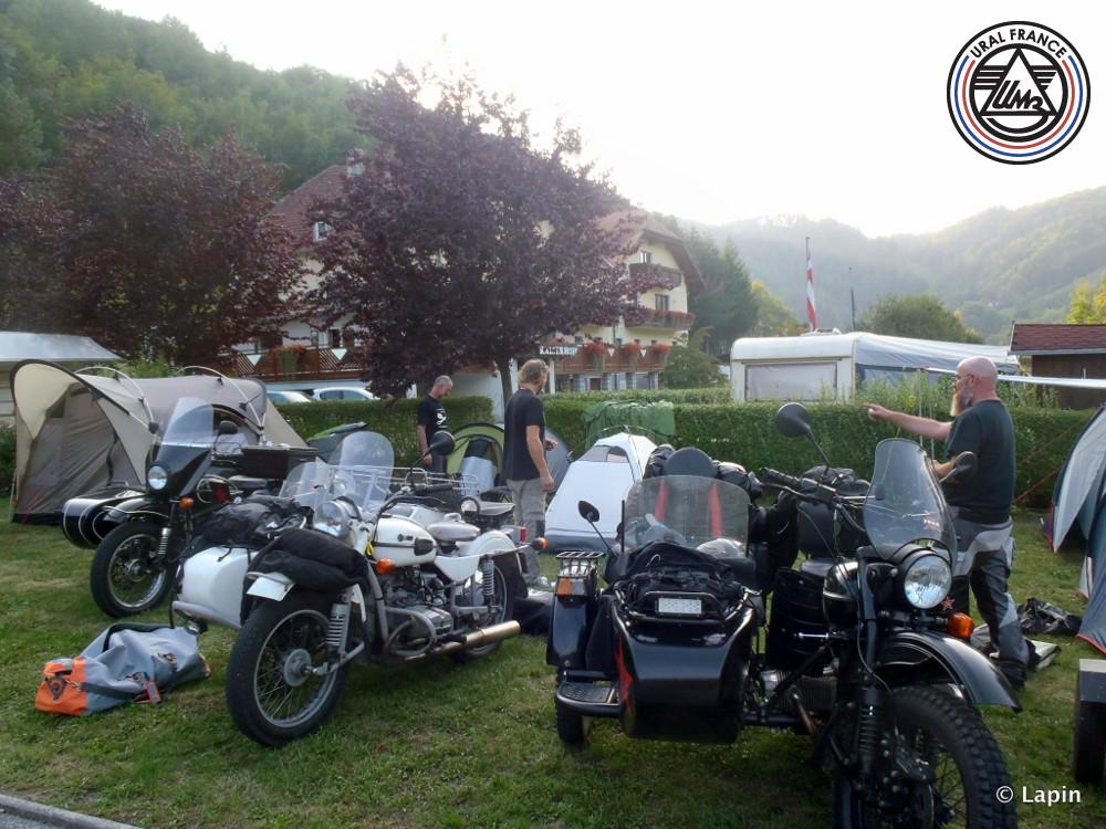 Arrivée en Autriche au Kaiserau camping