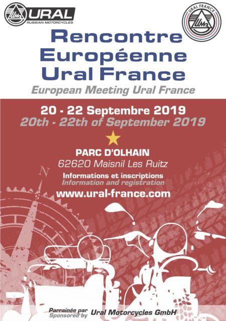 3eme Rencontre Européenne / 3rd European Meeting - URAL FRANCE