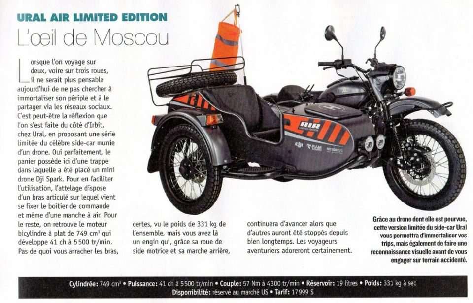 Ural-Drone-Limited-edition 2018